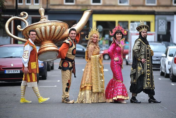 Aladdin Panto Launch