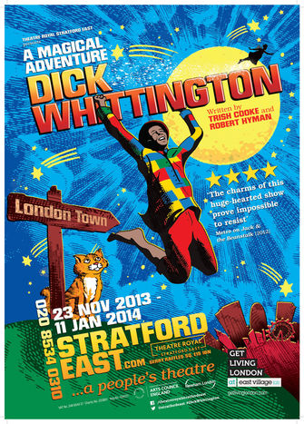 Dick Whittington at Theatre Royal Straford East