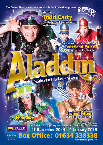 Aladdin Pantomime - Chatham Central Theatre