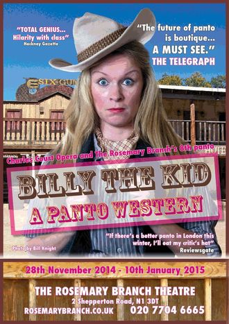 Billy the Kid - A Panto Western