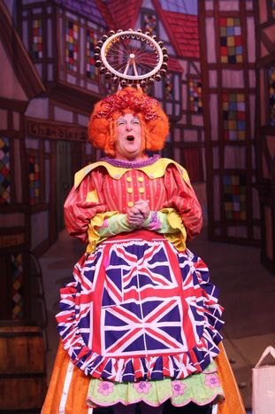 William Elliott in Dick Whittington 2012/13