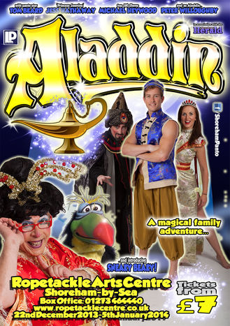 Aladdin! - Ropetackle Arts Centre, Shoreham